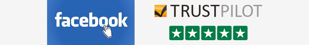 Trustpilot og Facebook